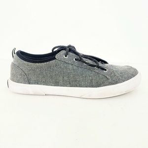 Sperry Gray Deckfin Sneakers Size 5.5